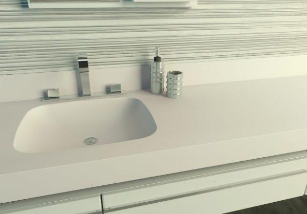 cameo white corian vanity top