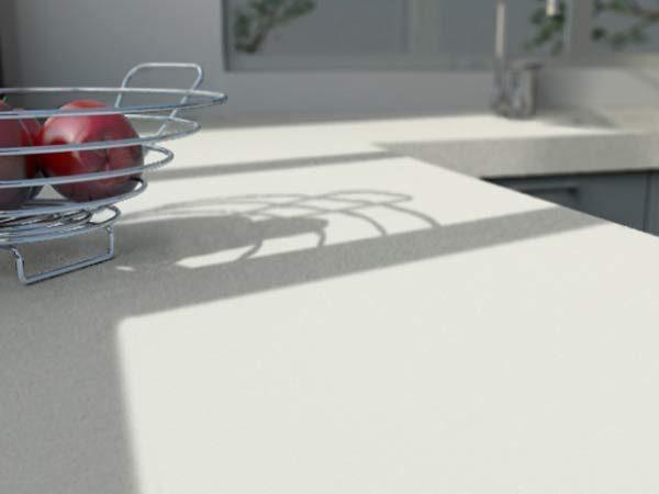 cameo white corian kitchen benchtop
