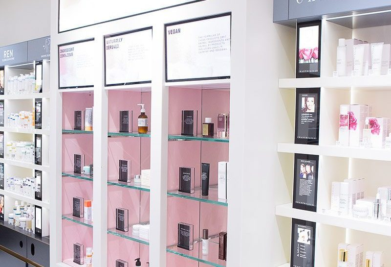 Mecca Wall Display in Solid Service